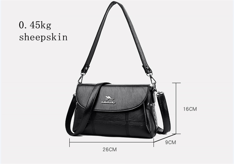 Women Shoulder Crossbody Bags For Women 2020 Sac A Main High Quality Soft Leather Luxury Purses And Handbags Women Bags Designer